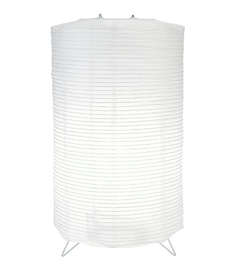 ThePaperLanternStore Cylinder Centerpiece Candle Paper Lantern WYF078280044225