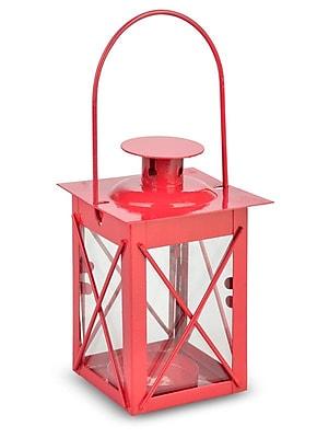 ThePaperLanternStore Metal Lantern; Red WYF078280044231