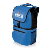 Picnic Time 20 Can Zuma Cooler Backpack; Los Angeles Clippers/Blue