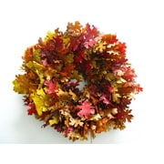 From the Garden 20'' Autumn Leaves Wreath
