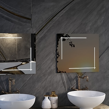 CIVIS USA Zack LED Lighted Mirror