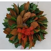 From the Garden 20'' Magnolia Wreath