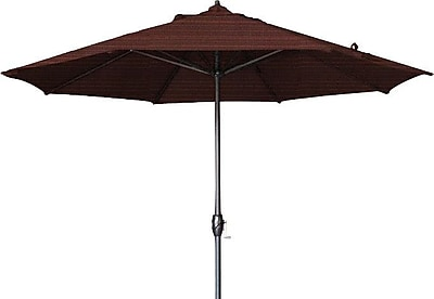 California Umbrella 9' Sunline Market Umbrella; Terrace Adobe WYF078278848300