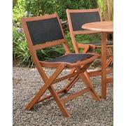 Arboria Sea Breeze Folding Dining Arm Chair