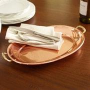 Old Dutch Decor Copper Serving Platter; Medium