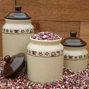 West Creation 3 Piece Canister Set