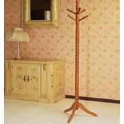 Mega Home Swivel Coat Rack Stand w/ Twist; Oak