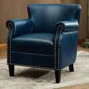 Comfort Pointe Holly Club Chair; Navy Blue