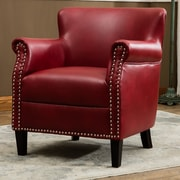 Comfort Pointe Holly Club Chair; Red