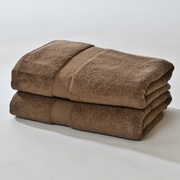Darby Home Co Bloomberg Bath Sheet (Set of 2); Espresso