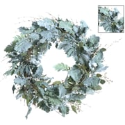 Gold Eagle USA 27.5'' Dusty Miller Wreath