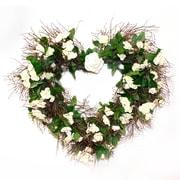 Dried Flowers and Wreaths LLC Secret Garden 20'' Wreath