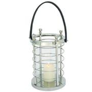Cole & Grey Glass Lantern; 21'' H x 10'' W x 9'' D
