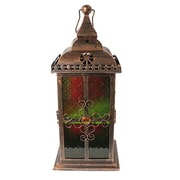 Essential Decor & Beyond Glass Lantern