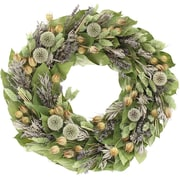 Floral Treasure Circle of Lavender Wreath; 18'' H x 18'' W x 5'' D