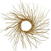 Floral Treasure Natural Twig 30'' Wreath; Brown