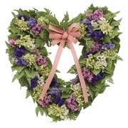 Floral Treasure Spring Meadow 17'' Wreath