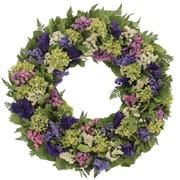 Floral Treasure Spring Meadow Wreath; 22'' H x 22'' W x 4'' D