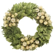 Floral Treasure Chatham Garden Wreath; 18'' H x 18'' W x 3'' D