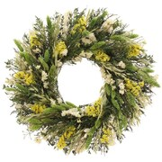 Floral Treasure Citrus Style Wreath; 18'' H x 18'' W x 3.5'' D
