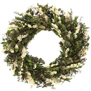 Floral Treasure Wild Blooms Wreath; 18'' H x 18'' W