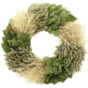 Floral Treasure Groovy Garden Wreath; 18'' H x 18'' W