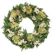 Floral Treasure Alfresco Fern Wreath; 18'' H x 18'' W