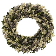 Floral Treasure Indigo Garden Wreath; 18'' H x 18'' W x 4'' D