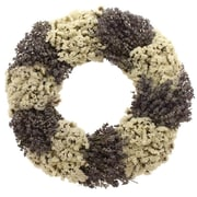 Floral Treasure Lavender Lace Wreath; 18'' H x 18'' W x 3.5'' D