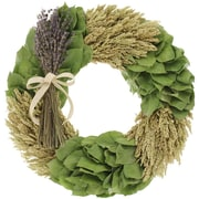 Floral Treasure Lavendula Bouquet Wreath; 18'' H x 18'' W x 5'' D