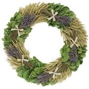 Floral Treasure Lavendula Bouquet Wreath; 30'' H x 30'' W x 5'' D