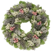 Floral Treasure Lavender Breeze Wreath; 18'' H x 18'' W x 3.5'' D