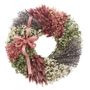 Floral Treasure Garden Soul Wreath; 18'' H x 18'' W x 3.5'' D