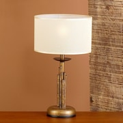 Lustrarte Lighting Rustik Bambu 15.75'' Table Lamp; Earth