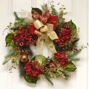 Floral Home Decor 24'' Wreath