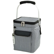 Picnic At Ascot 18 Can Houndstooth Wine and Multi Purpose Picnic Cooler
