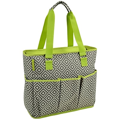 Picnic At Ascot 3 Can Large Insulated Multi Pocket Tote Cooler WYF078280045919
