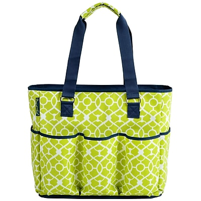 Picnic At Ascot 3 Can Large Insulated Multi Pocket Tote Cooler WYF078280045921