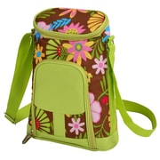 Picnic At Ascot 2 Can Floral Insulated Wine Tote Cooler