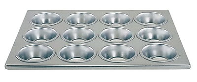 Update International 12 Cup Aluminum Muffin Pan WYF078280047414