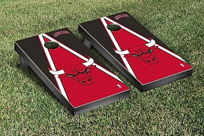 Victory Tailgate NBA Triangle Version Cornhole Game Set; Chicago Chi Bulls WYF078277122781