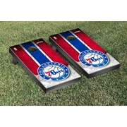 Victory Tailgate NBA Vintage Version Cornhole Game Set; Philidelphia Sixers 76ers