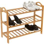 Trademark Innovations 3-Tier Shoe Rack