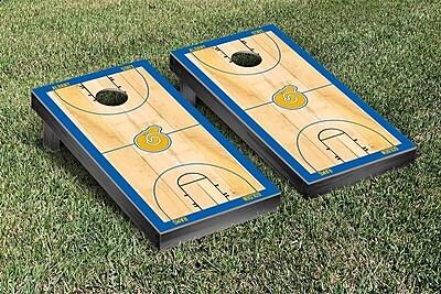 Victory Tailgate NCAA Basketball Court Cornhole Game Set; Albany State University Golden Rams WYF078277119844