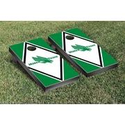 Victory Tailgate NCAA Diamond Version Cornhole Bean Bag Toss Game; North Texas Mean Green