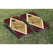 Victory Tailgate NCAA Diamond Version Cornhole Bean Bag Toss Game; Texas State University Bobcats