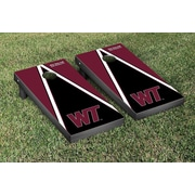 Victory Tailgate NCAA Triangle Wooden Version 2 Cornhole Game Set; West Texas A&M University Buffs