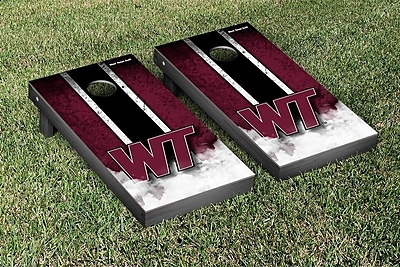 Victory Tailgate NCAA Vintage Wooden Cornhole Game Set; West Texas A&M University Buffs WYF078277115714