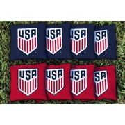 Victory Tailgate MLS Replacement All Weather Cornhole Game Bag Set; United States Soccer Federation