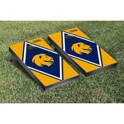 Victory Tailgate NCAA Diamond Version Cornhole Bean Bag Toss Game; Texas A&M Commerce Lions